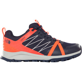 The North Face Litewave Fastpack II GTX Zapatillas Mujer, peacoat navy/fiery coral